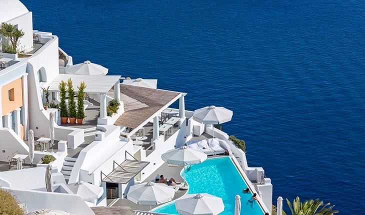 Katikies The Hotel 5 Star Hotel In Greece Santorini