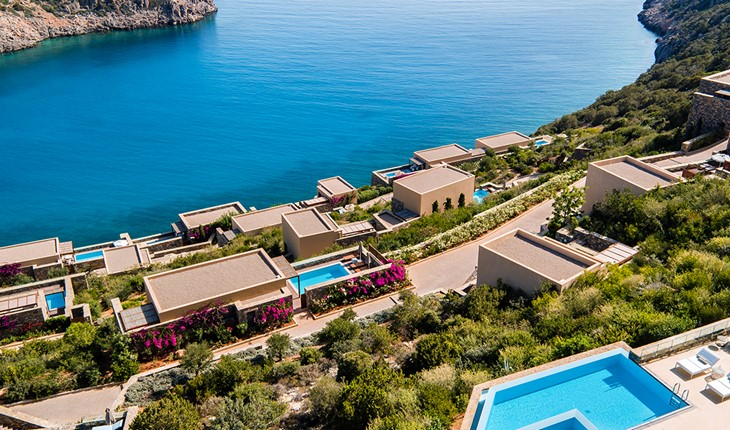 Daios Cove Luxury Resort & Villas 5 star hotel in Greece (Crete)