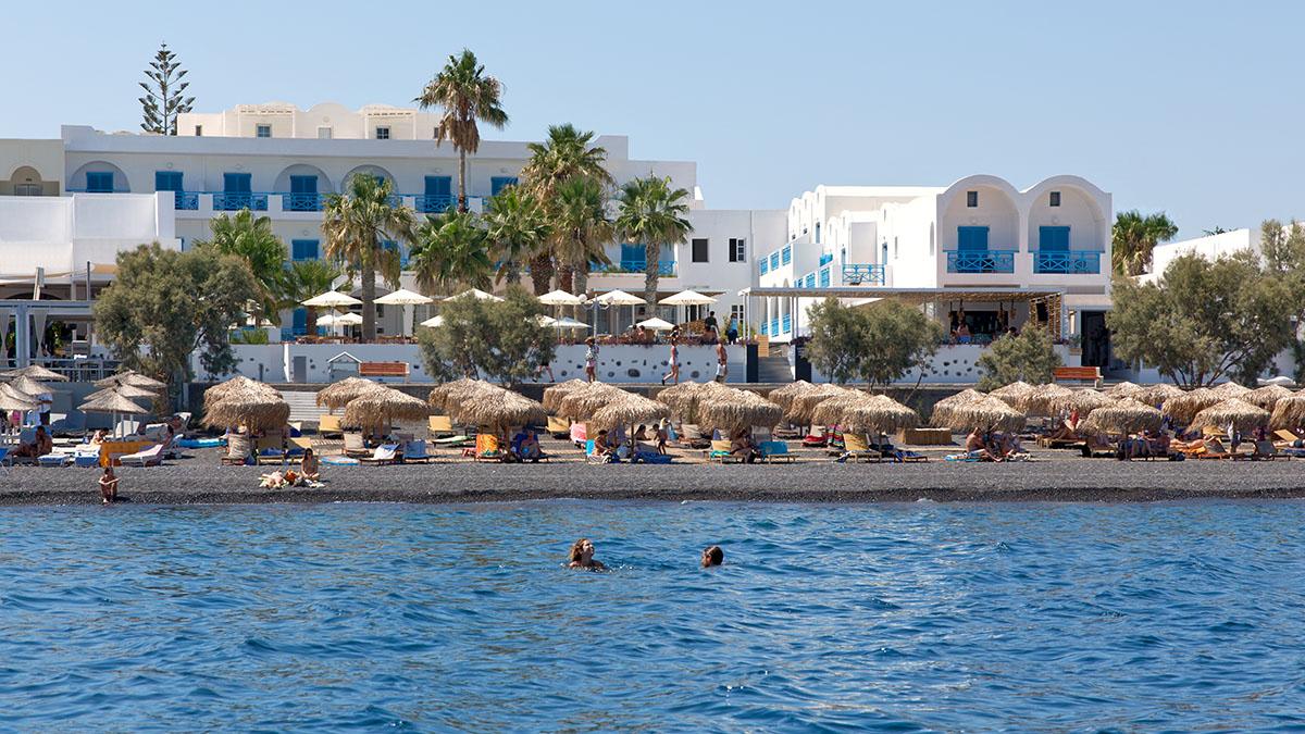 Ri Beach Hotel Santorini 2 Star In Greece