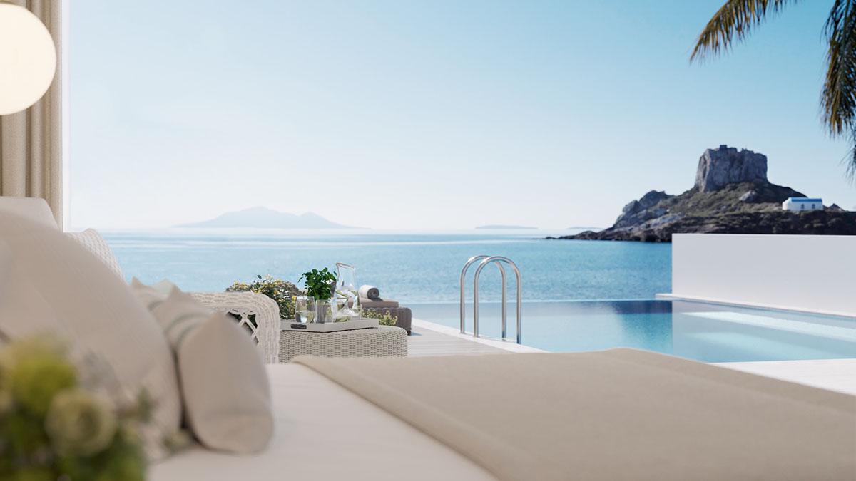 Carte Europe Kos.Ikos Aria 5 Star Hotel In Greece Kos