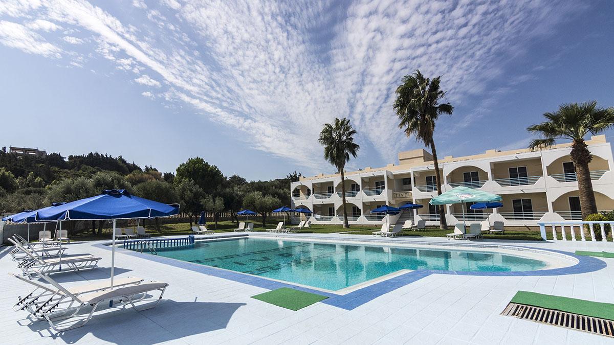 Tivoli Hotel 2 Star Hotel In Greece Rodos