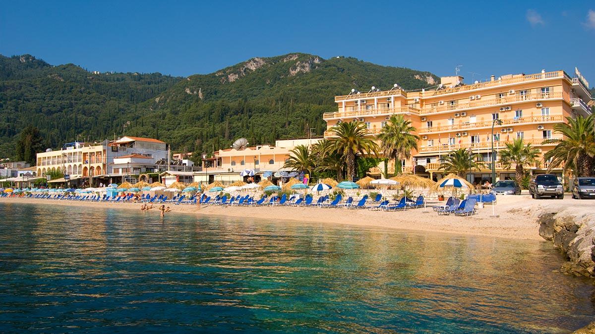 Potamaki Beach Hotel Corfu