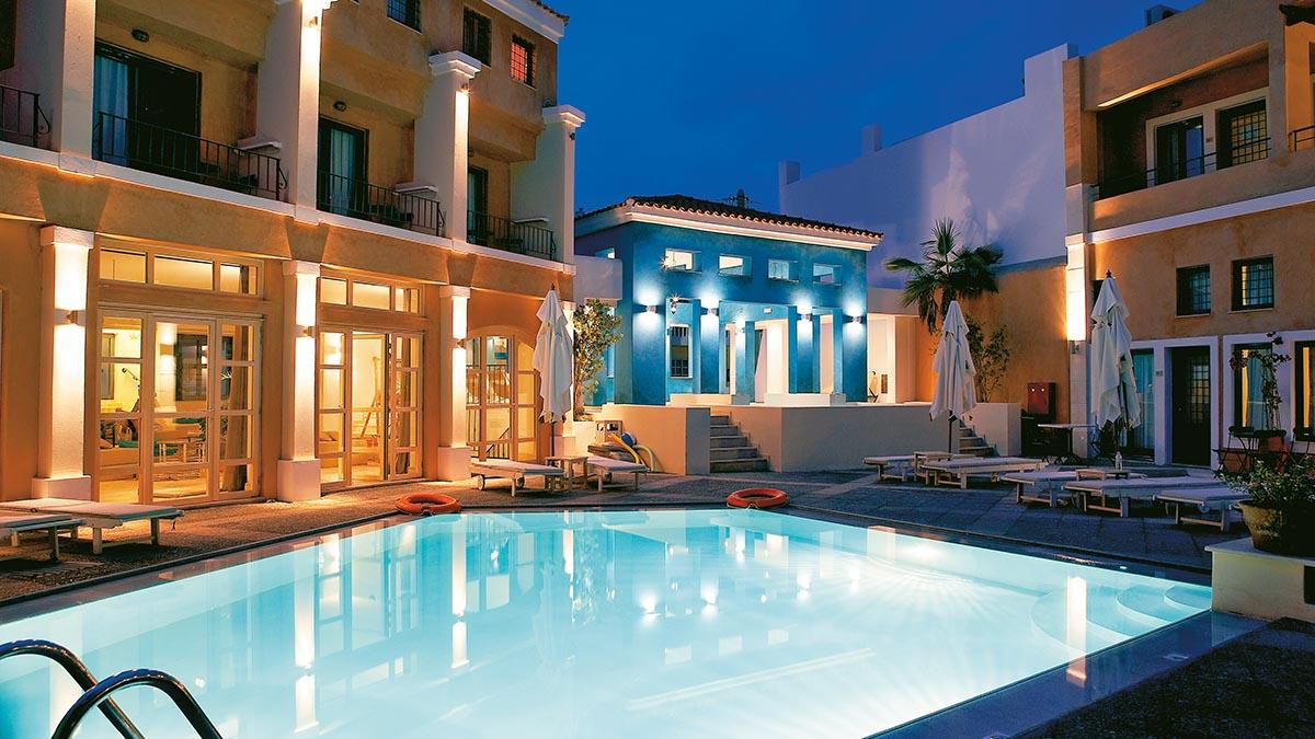 Nice Grecotel Plaza Spa Apartments