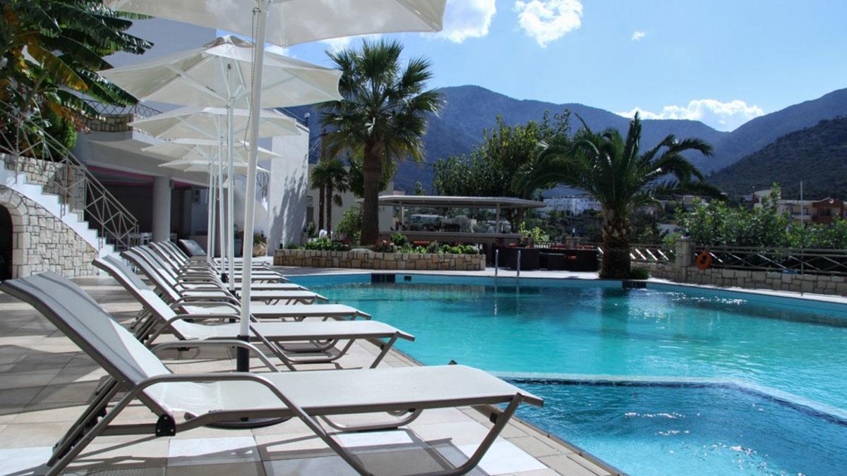 Sunset Hotel Spa 4 Star Hotel In Greece Crete