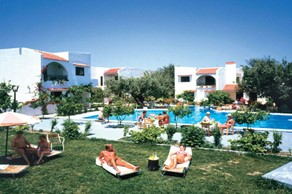 Oasis Hotel Bungalows, Rodos