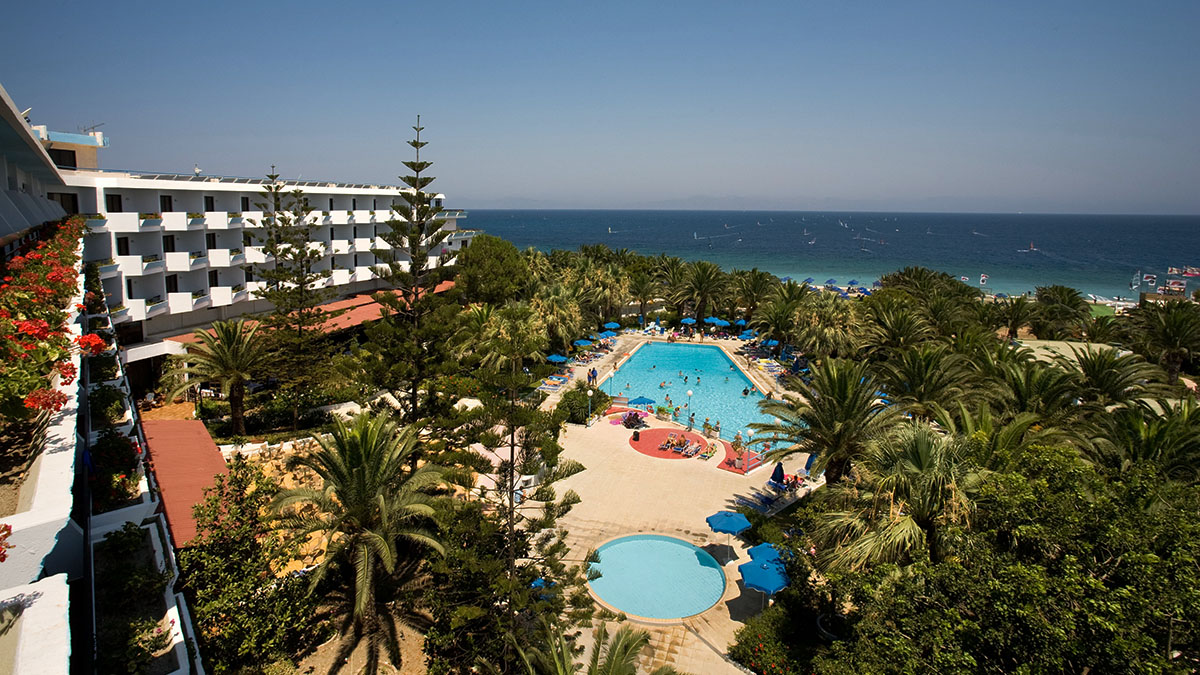Blue Horizon Palm Beach Hotel and Bungalows 4 star hotel in Greece ...