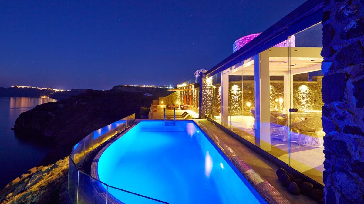 Cavo Ventus Luxury Villa 5 Star Hotel In Greece Santorini