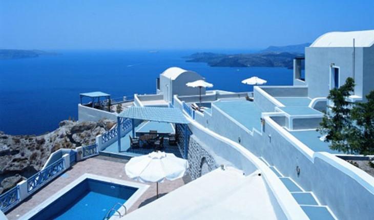 Celestia grand ex volcano view villas 5 star hotel in for 5 star villas