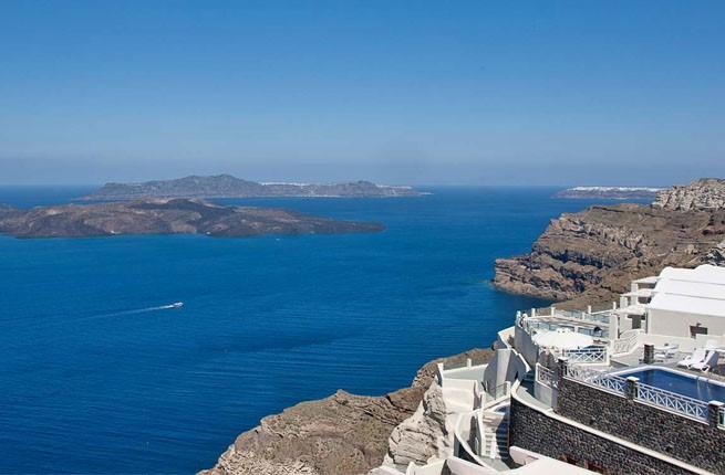 Petit Palace Suites Hotel 5 Star Hotel In Greece Santorini