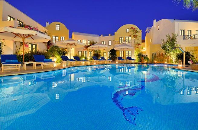 Tamarix Del Mar Suites Hotel 5 Star Hotel In Greece Santorini