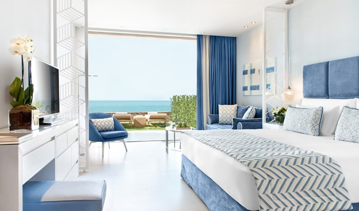 Junior Suite Private Garden Sea View