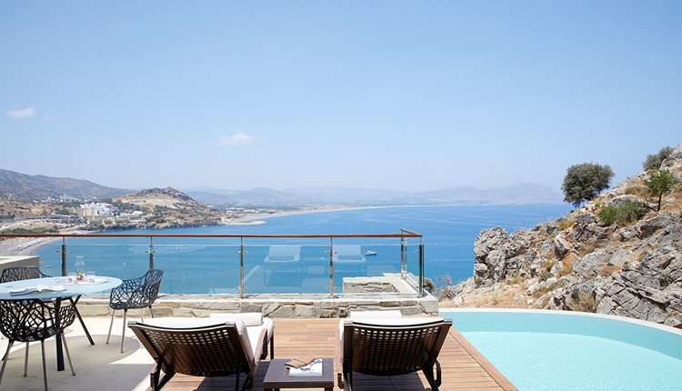 Maisonette Private Pool Sea View