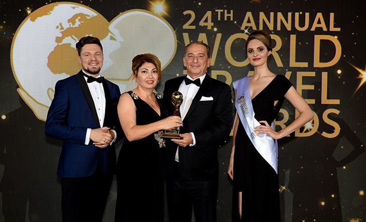Beleon Tours honored as Greece's Leading Travel Agency 2017